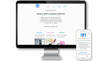 MSM Cleaning Services Website