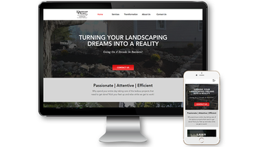 Dreamscape Designs Website