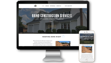 Rhino Construction Services Website