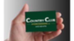 Country Club Hydroseedig Business Card