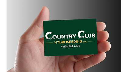 Country Club Hydroseedig Business Card