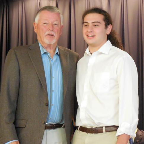 Brody Mandelbaum awarded 2019 I4E Annual Scholarship