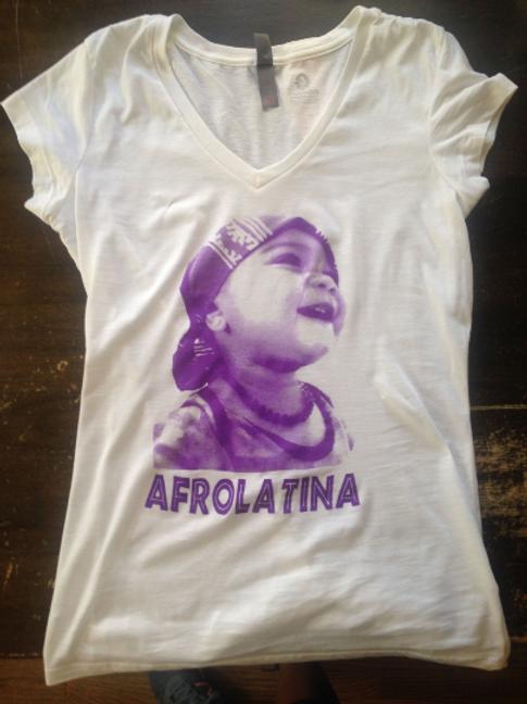 AFROLATINA WHITE T-SHIRT