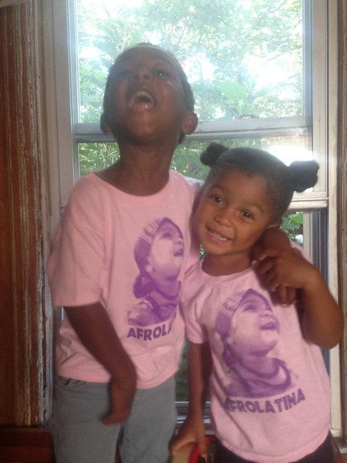 Children's Afrolatina T-shirt