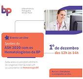Spoilers do ASH 2020 com os Hematologistas da BP