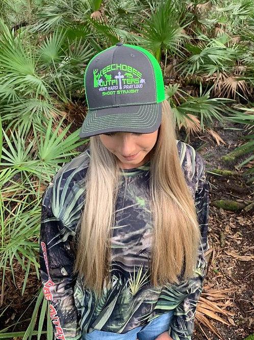 Okeechobee Outfitters Neon Green Trucker Hat
