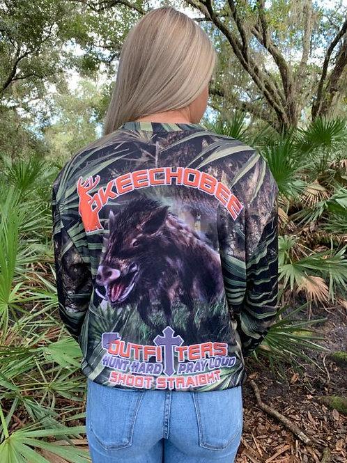 Okeechobee Outfitter Wild Boar Long Sleeve Shirt
