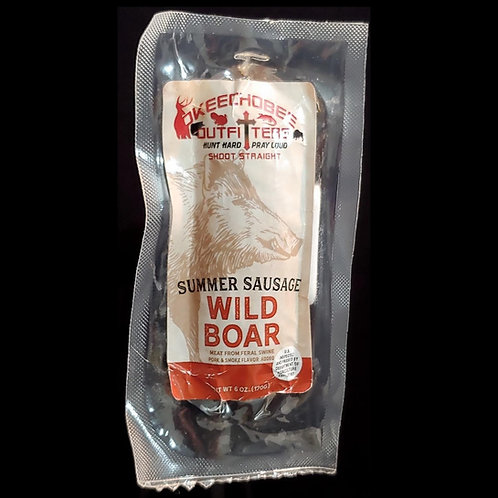 Wild Boar Summer Sausage 7oz.