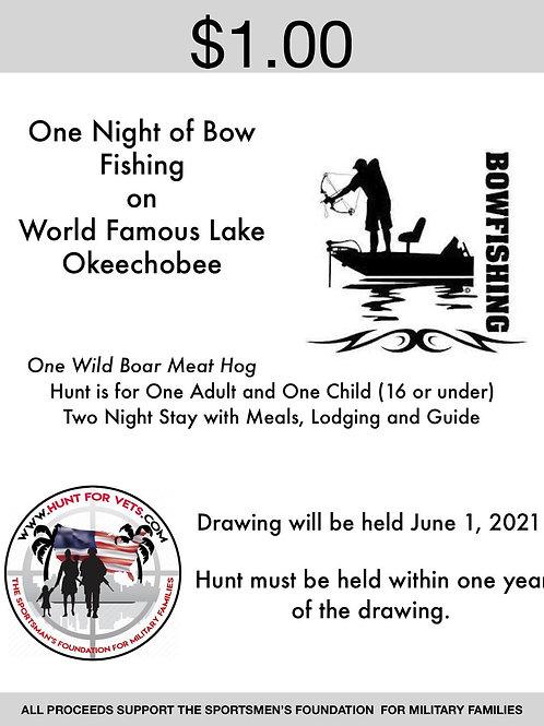 One Night of Bow Fishing on World Famous Lake Okeechobee