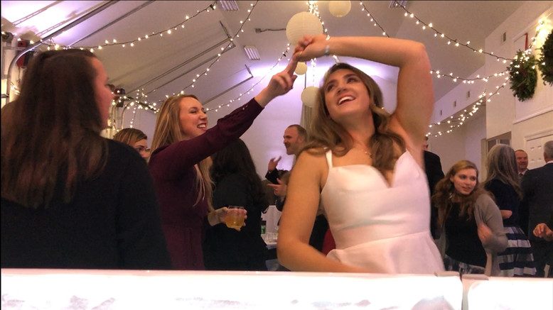 Bride Dancing