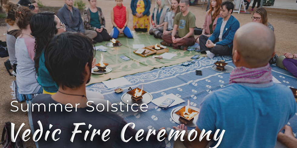 Summer Solstice Fire Ceremony