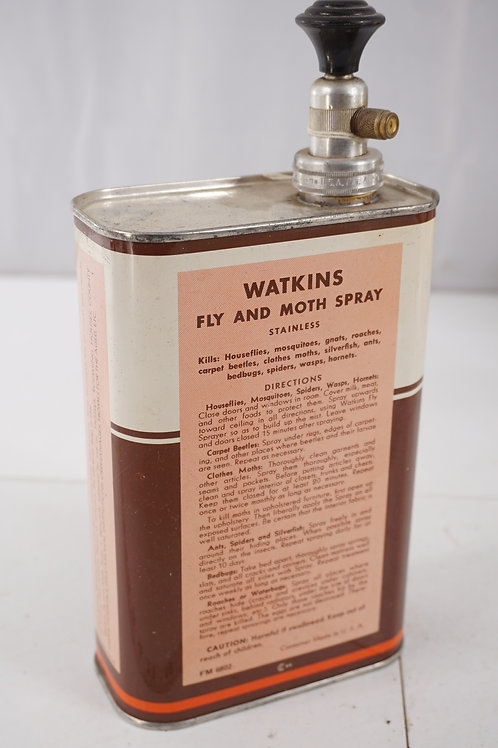 Watkins Fly And Moth Spray Tin