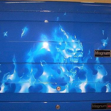 Blue Skull Tool Box (5)