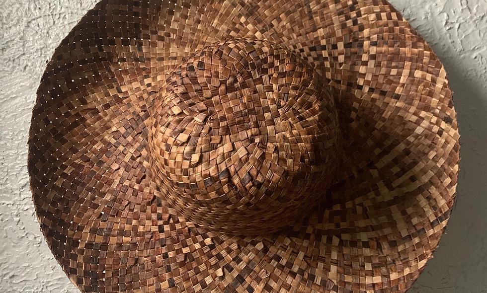 ASHAKA GIVENS WOVEN STRAW FEDORA Natural Woven