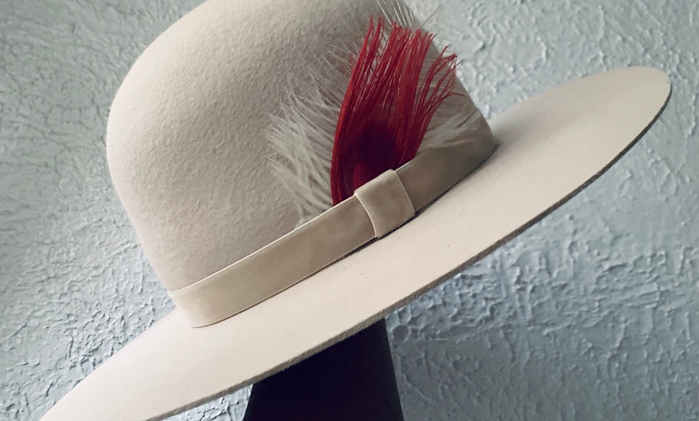 Limited Edition-Alabaster Dome Hat