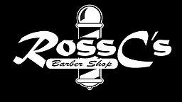 RossC's Barber Shop Logo