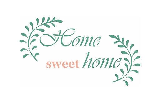Frase home sweet home