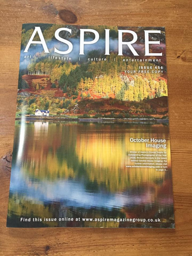 Our article in Aspire magazine!