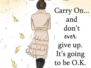 Be encouraged ...
