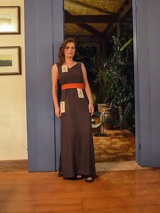 Vestido Dipladênia com bordados