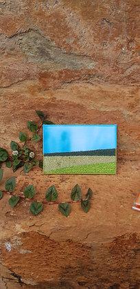 Cartão Postal Bordado