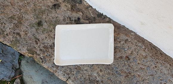 Prato Retangular de Cerâmica