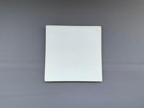 月白 12cm陶板 【10枚入り】