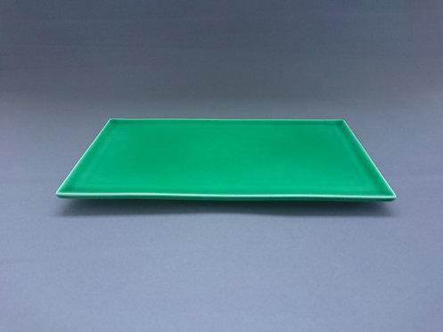 緑交趾皿 (小)【10枚入り】
