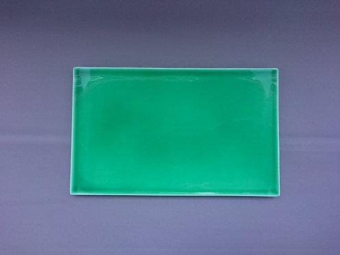 緑交趾皿(大)【10枚入り】