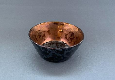 ミニボール(反り)ウロコ銅 (Φ8cm) 【10個入り】