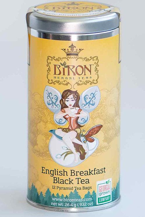 English Breakfast- 12 Pyramid Tea Bags - Case of 6