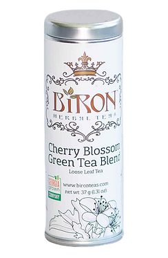 Cherry Blossom Green Tea Blend  - Loose Leaf Tea
