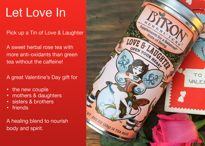 Give your Valentine a tin of Love & Laughter