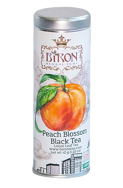 Peach Blossom Black Tea - Loose Leaf Tea