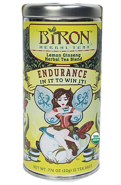 Endurance Organic Herbal Tea - 12 Biodegradable Pyramid Sachets