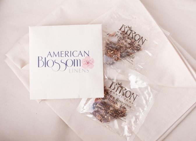 A GA Grown Good Night's Sleep: Biron Teas partners with American Blossom Linens.