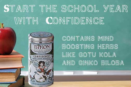 Back to School with Biron Teas