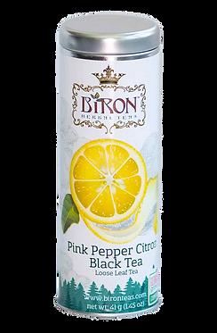 Pink Pepper Citron Black Tea - Loose Leaf Tea