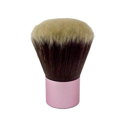 Kabuki White Tip / Pink Handle