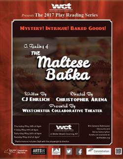 The Maltese Babka poster