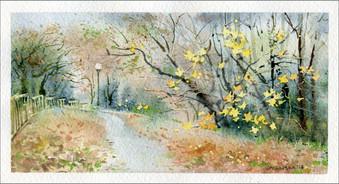 Autumn is here... 17x9 cm