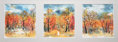 Autumn study #6 48x30 cm