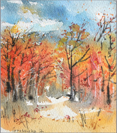 Autumn study #6 fragment