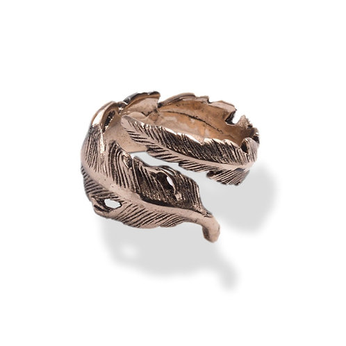 Bague PLUME Or