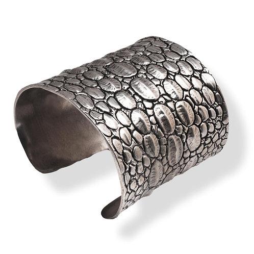 Bracelet KROKO Argent