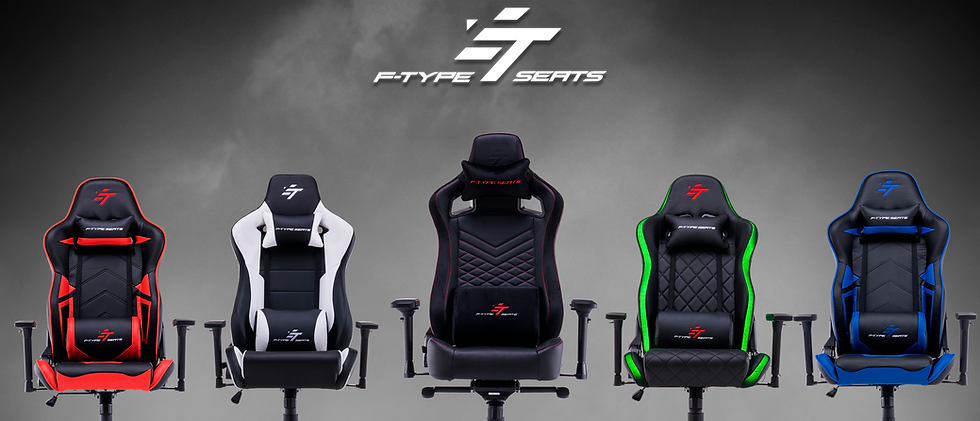 SILLAS GAMER PERU F-TYPE-SEATS