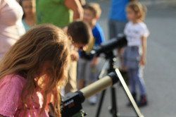 Solar observations in buffer zone