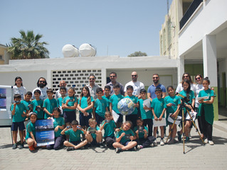 Our astronomy activities in schools across Cyprus have started!