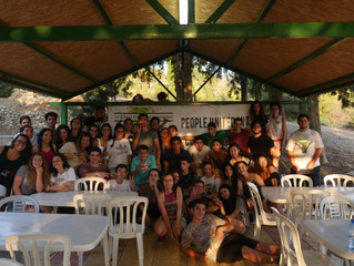 Columba-Hypatia at the Cyprus Friendship Program Camp