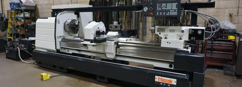 Mazak M5N-2500 Lathe Front